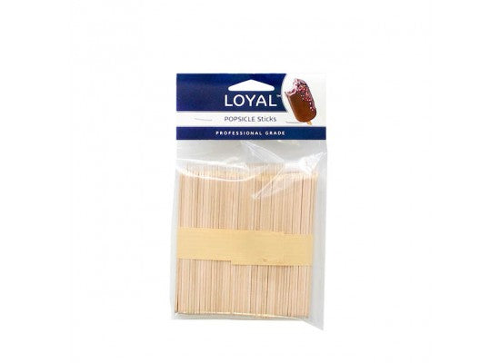 Loyal Popsicle Sticks - 100pk