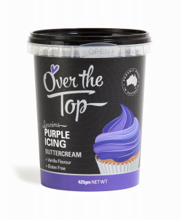Over The Top Buttercream - Purple 425g