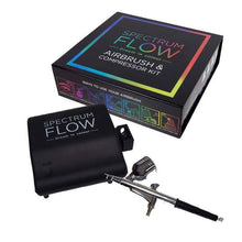 Spectrum Flow Airbrush & Compressor Kit