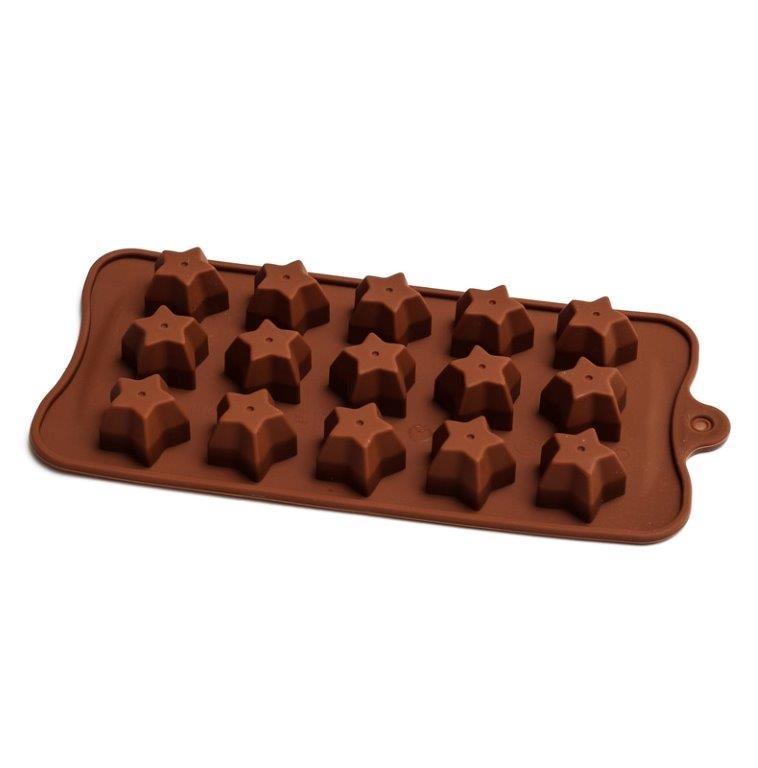 Silicone Chocolate Mould - Stars