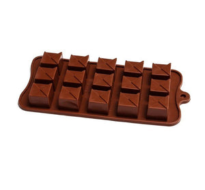 Silicone Chocolate Mould - Triangle Topped