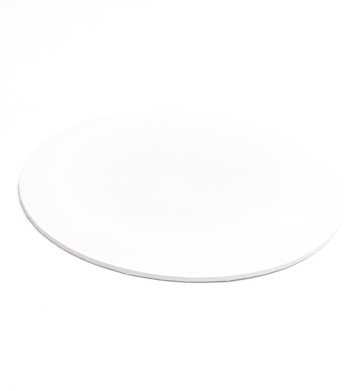 8inch (20cm) Round 5mm Cake Board - White