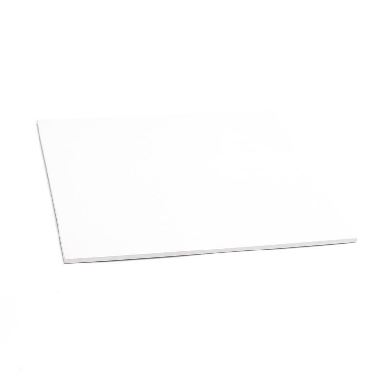 12inch (30cm) Square 5mm Cake Board - White