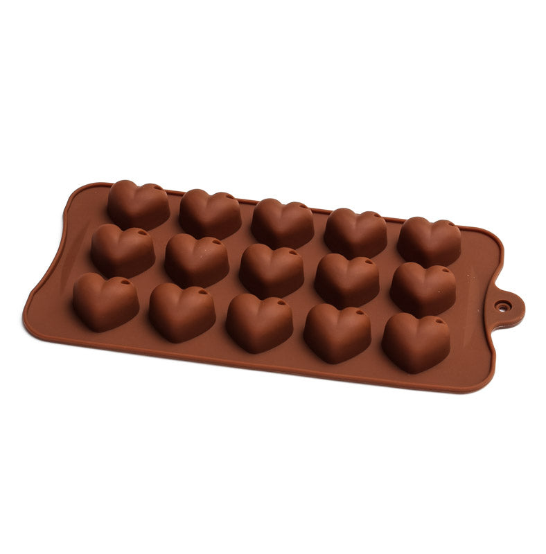 Silicone Chocolate Mould - Shiny Heart