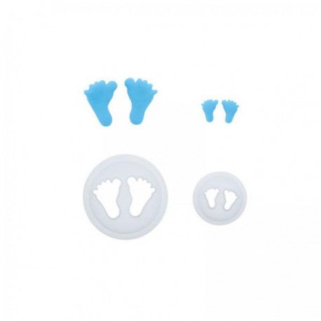 2PC Cutter Set - Mini Baby Feet