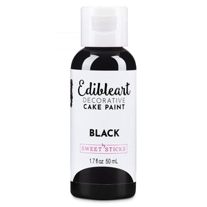 Sweet Sticks Edible Art Paint 50ml - Black