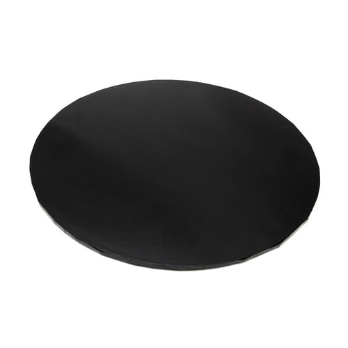 6inch (15cm) Round 5mm Cake Board - Black