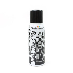 Chefmaster Edible Food Spray 42G - Black