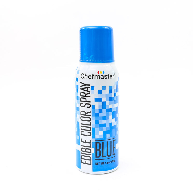Chefmaster Edible Food Spray 42G - Blue