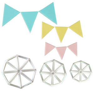 3PC Bunting Cutter Set