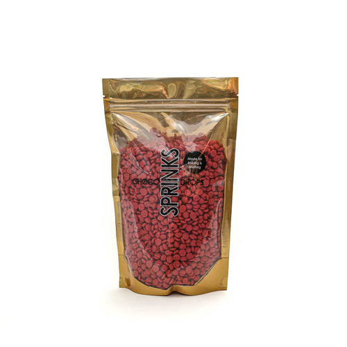 500g Sprinks Choco Drops - Red