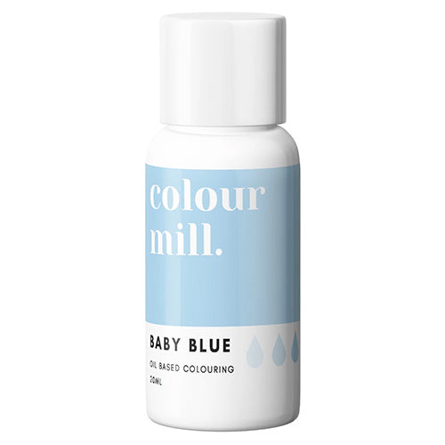 20ml Colour Mill Oil Based Colour - Baby Blue