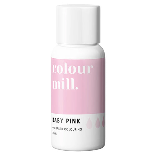 20ml Colour Mill Oil Based Colour - Baby Pink