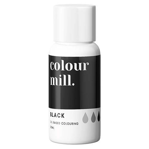 20ml Colour Mill Oil Based Colour - Black