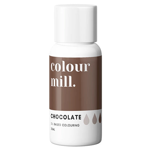 20ml Colour Mill Oil Based Colour - Chocolate