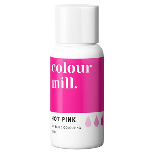 20ml Colour Mill Oil Based Colour - Hot Pink