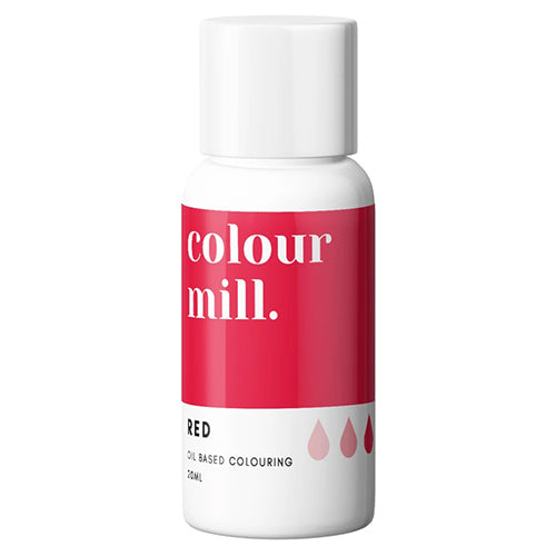 20ml Colour Mill Oil Based Colour - Red