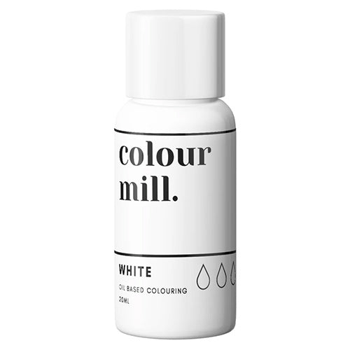 20ml Colour Mill Oil Based Colour - White