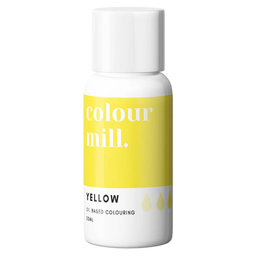 20ml Colour Mill Oil Based Colour - Yellow