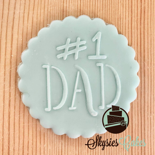 Debosser Stamp - #1 Dad