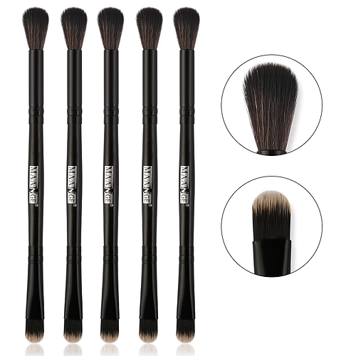 Double Head Chocolate Polish Brush