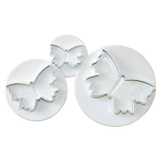 3PC Butterfly Plunger Cutter Set