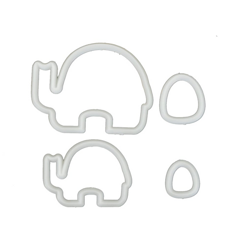 2PC Elephant Cutter Set