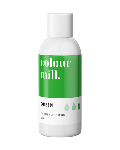 100ml Colour Mill Oil Based Colour - Green