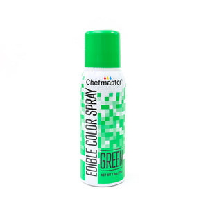 Chefmaster Edible Food Spray 42G - Green