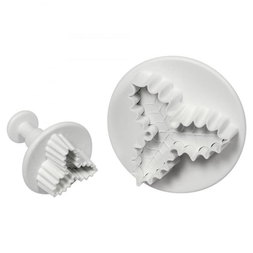 2PC 3 Leaf Holly Plunger Cutter Set