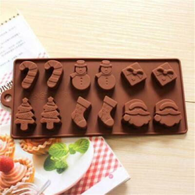 Silicone Chocolate Mould - Christmas Assorted #1