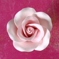 Sugar Flower - Large Tea Rose - Pink