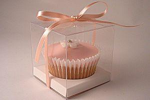 Clear Cupcake Box - Single