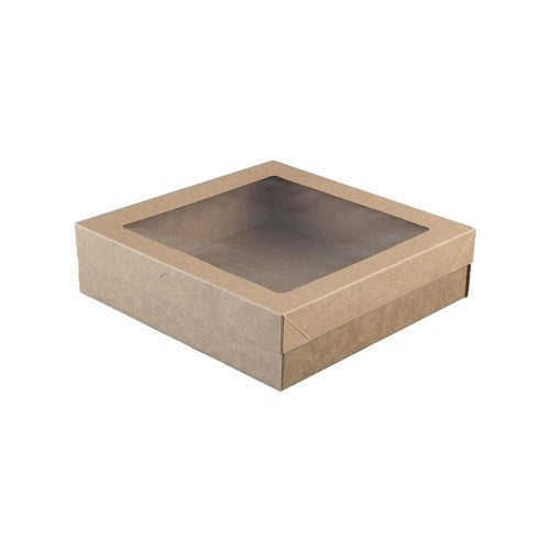 Small Brown Catering Box