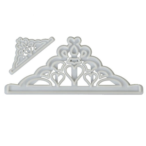 2PC Tiara Cutter Set