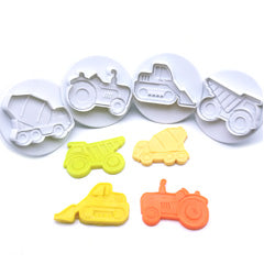 4PC Construction Plunger Cutter Set