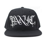 The Black Scribed Snapback Hat - concreteaddicts