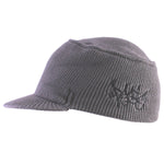 Panic 39 The Flat top Commando Beanie in Charcoal - concreteaddicts