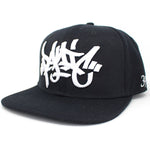Panic 39 The 3D Tag Snapback in Black - concreteaddicts
