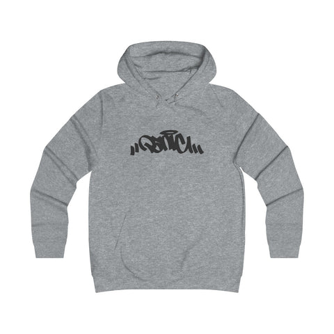 Panic 39 Amor Juniors Hoodie Sweatshirt - Black Print - concreteaddicts
