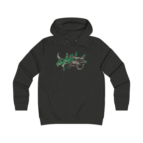 Panic 39 Camo Tag Juniors Hoodie - concreteaddicts