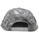 The City Digi Camo Tag Snapback Hat - concreteaddicts