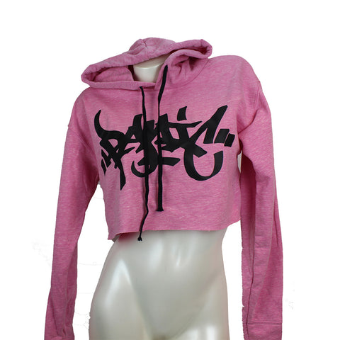 Womens Cropped Fleece Hoodie - concreteaddicts