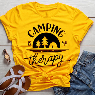 Camping is my Therapy Tee