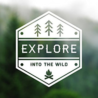 Explore Into The Wild Decal