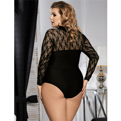 OY Long Sleeve Obstructed Bodysuit