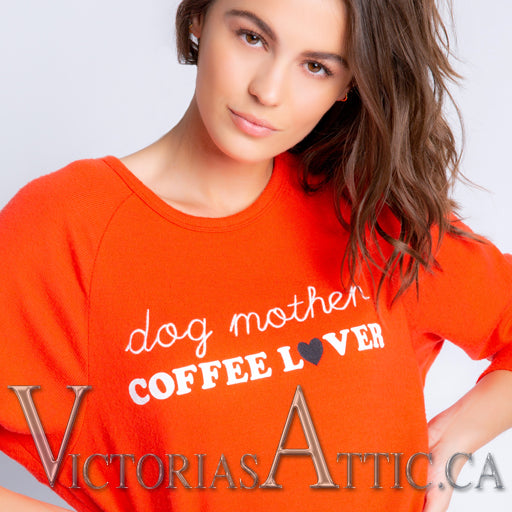 PJ Salvage Coffee + Canines Dog Mother Top