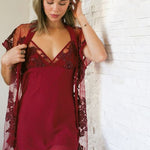 Rya Charming Cover Up Sangria