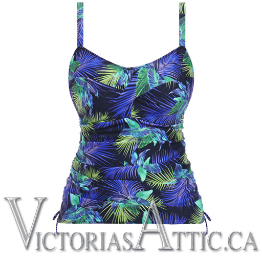 Fantasie Coconut Grove Twist Front Tankini Top
