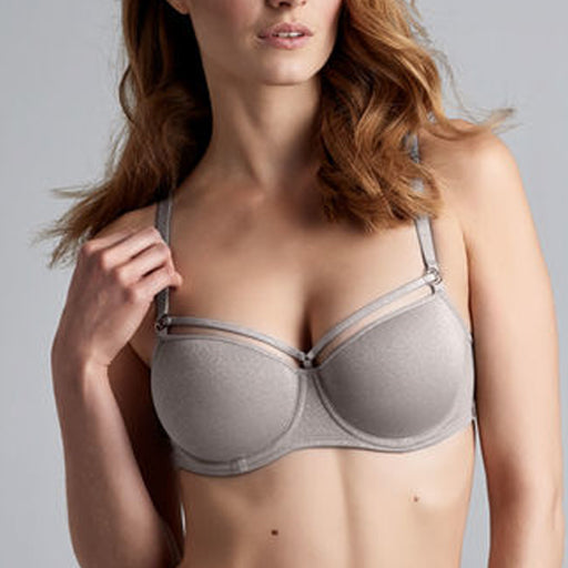 Marlies Dekkers Space Odyssey Balcony Silver Lurex Grey
